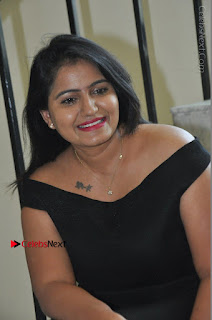 Telugu Actress Swathi Reddy Latest Stills in Black Gown  0065.JPG