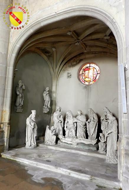 VARANGEVILLE (54) - La Mise au tombeau (Vers 1522)