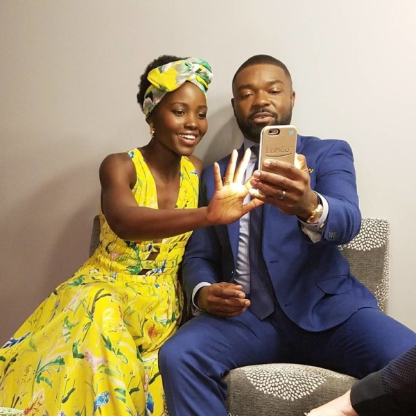 Lupita Nyong'o welcomes British-Nigerian actor David Oyelowo to Instagram
