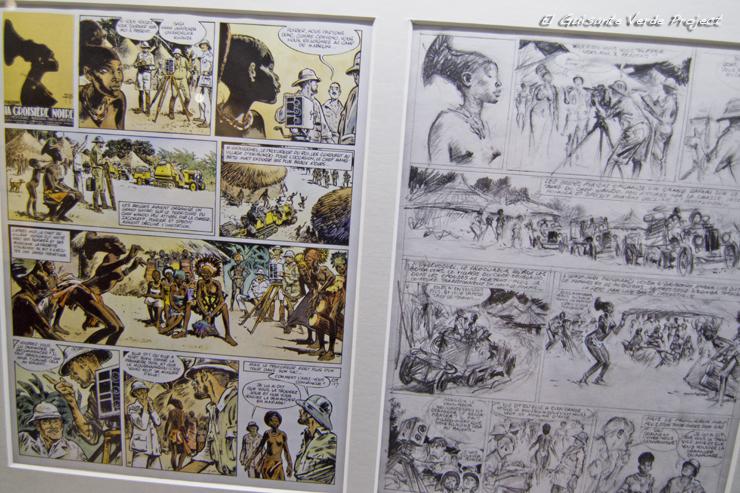 Detalle Comic, Centro Belga del Comic, Bruselas por El Guisante Verde Project