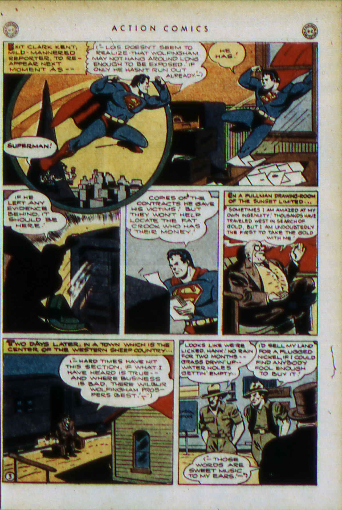 Read online Action Comics (1938) comic -  Issue #79 - 6