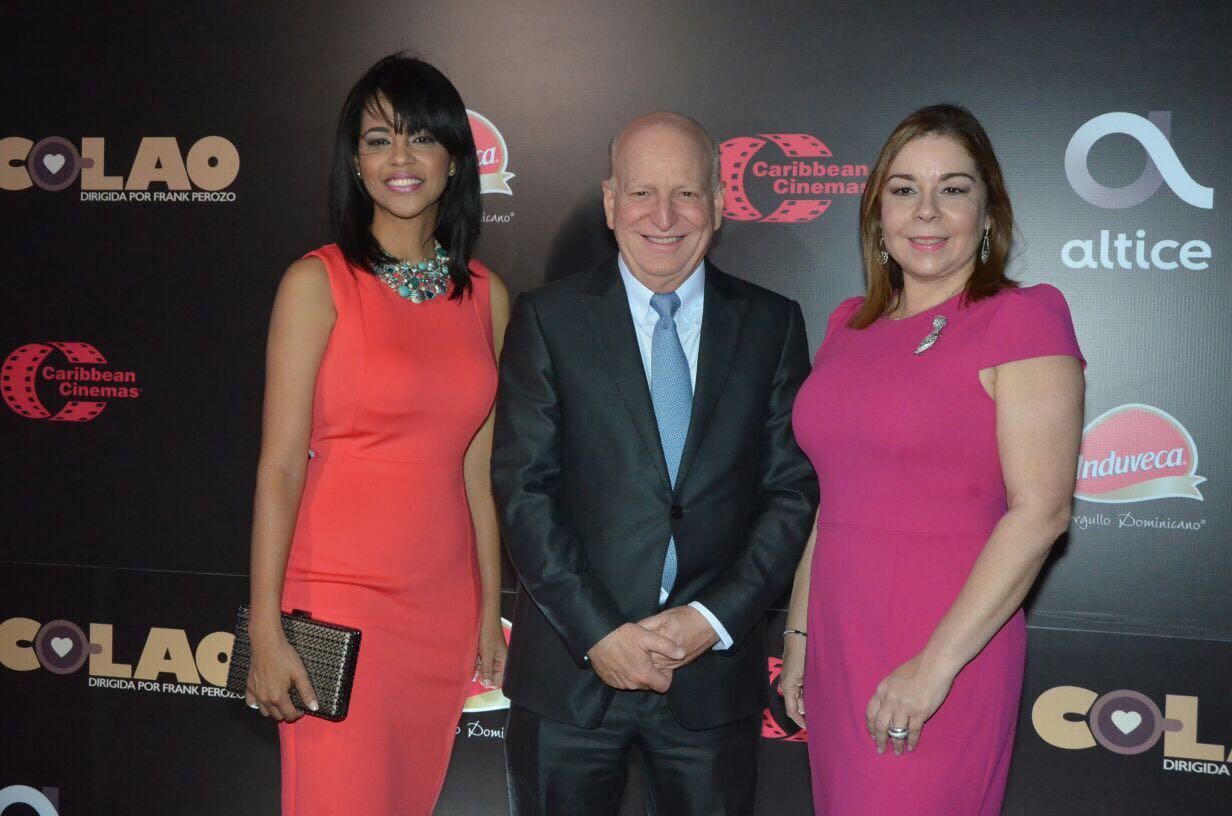 Ana Lopéz, Robet Carrady, Tamy Reynoso