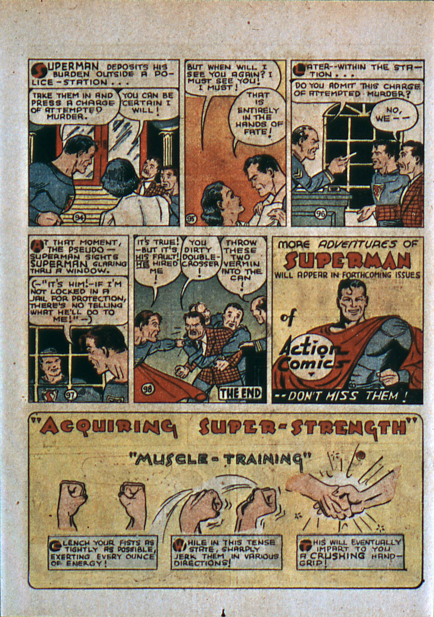 Read online Action Comics (1938) comic -  Issue #6 - 16