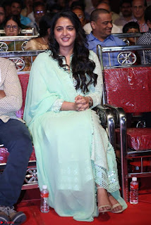 Anushka Stills At Show Time Movie Audio Launch 09.jpg