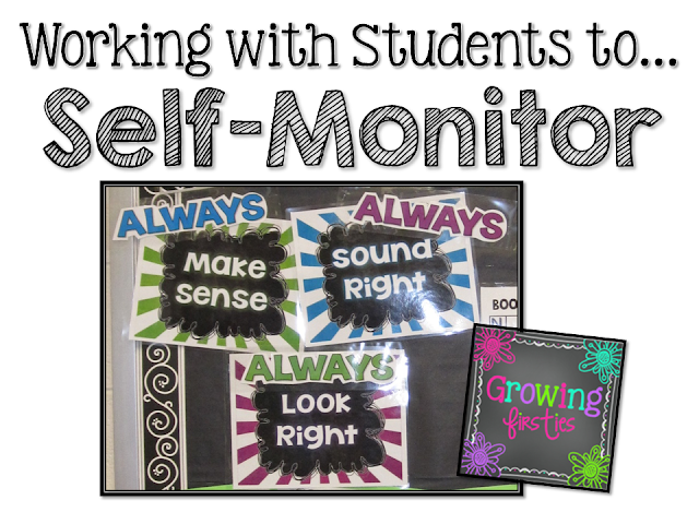Teaching Readers to Self-Monitor