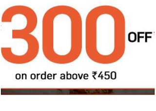 Box8 Coupons Get Flat Rs. 300 off on Food Order Rs. 450