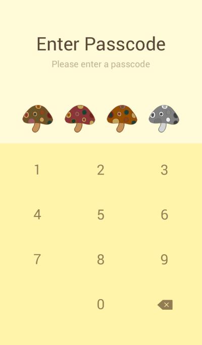 Fashionable mushrooms