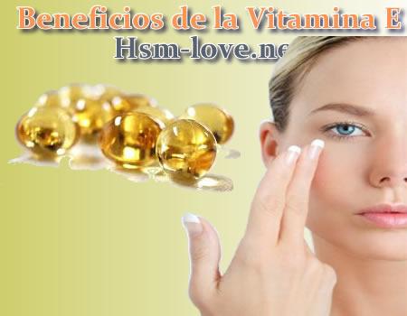 Beneficios de Vitamina E
