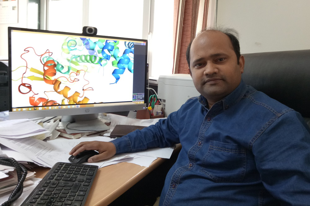 Dr. Rajanish Giri, Assistant Professor of Biotechnology, IIT Mandi.