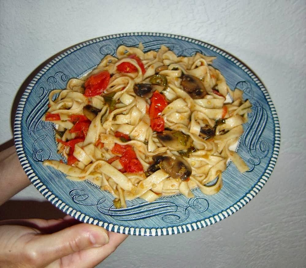 My Summer Harvest Vegetarian Pasta