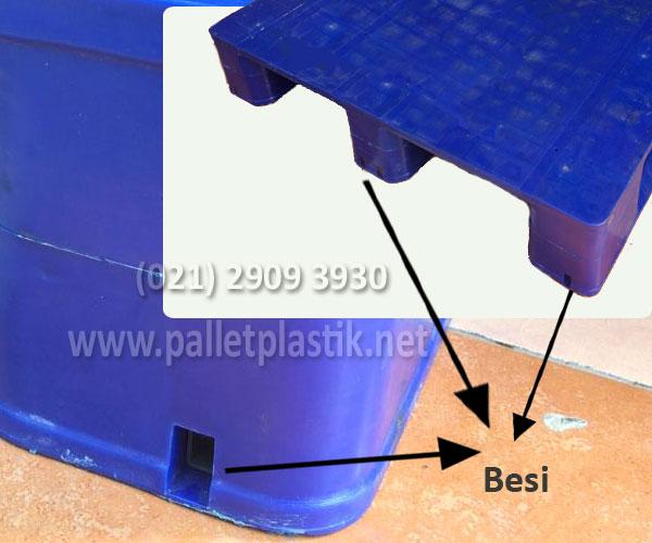 Harga pallet plastik M1210 Flat