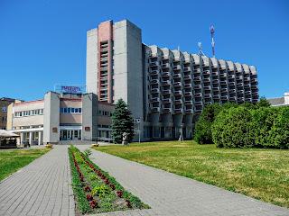 Пинск. Гостинично-развлекательный комплекс «Припять»