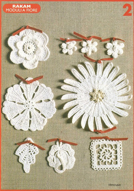 Patrones Crochet Adornos-Motivos