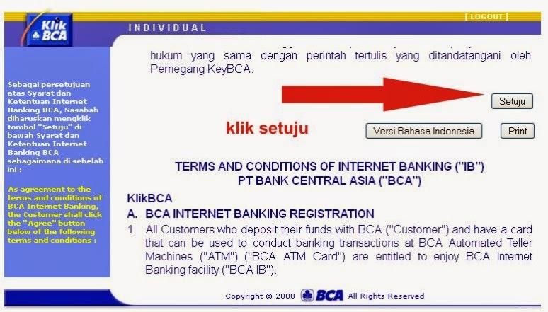 Cara Daftar Internet Banking BCA di ATM dan Aktivasi