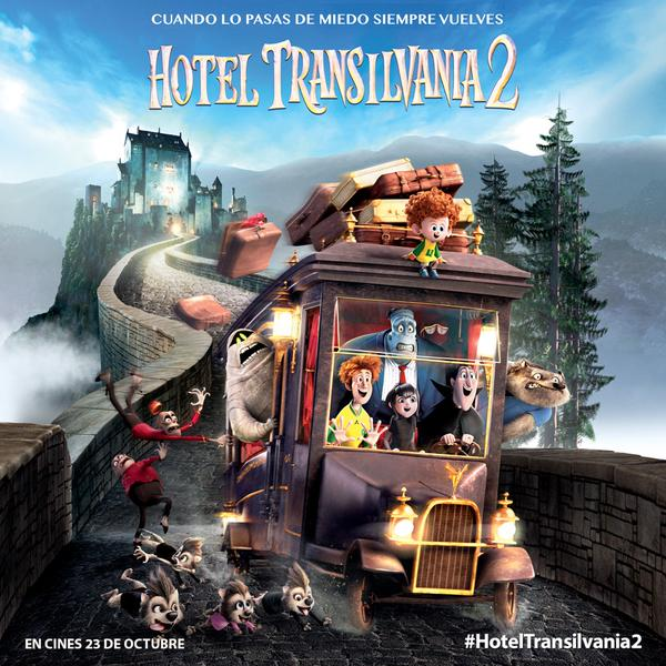Vampirízate con Hotel Transilvania 2