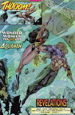 I specifically went with an unspoilery page here, but just realized Aquaman had to be saved, underwater.
