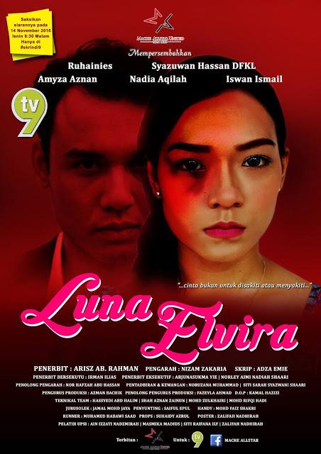 Sinopsis Telemovie Luna Elvira - TV9