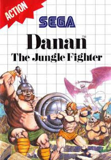 Danan: The Jungle Fighter, o cómo repartir cuchilladas en taparrabos en Sega Master System