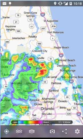 local weather radar