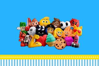 Para hacer invitaciones, tarjetas, marcos de fotos o etiquetas, para imprimir gratis de Emoji.