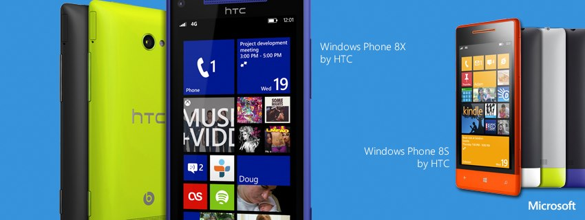 New Windows Phone 8X and 8S by HTC