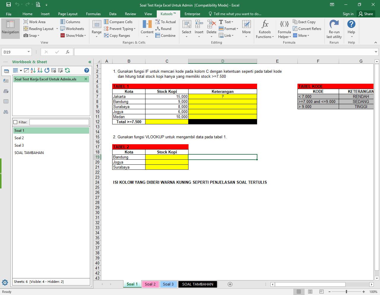 Kutools For Excel Full Crack V17 00 Terbaru