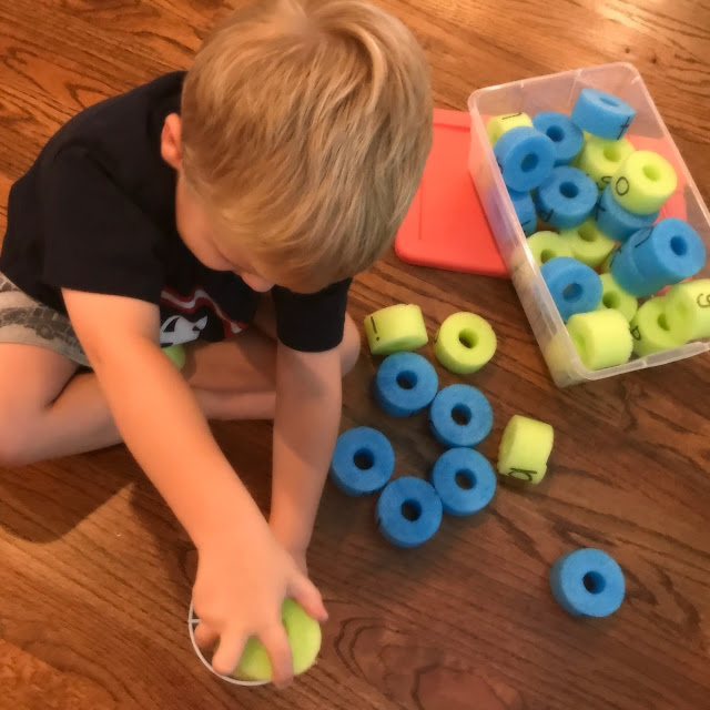 Independent activity for Word Work literacy center