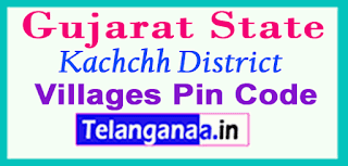 Kachchh District Pin Codes in Gujarat State