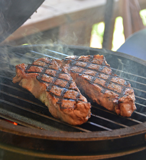 GrillGrates are more than just pretty grill marks, it is about maximizing the infrared heat for better cooking.
