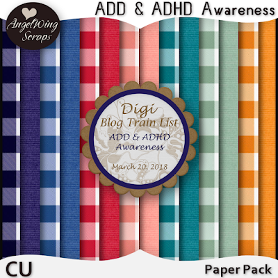 ♥ ADD & ADHD Awareness ♥