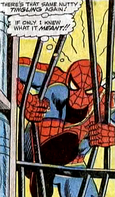 Amazing Spider-Man #56, john romita, breaking into a military base, spider-man bends a bunch of steel bars