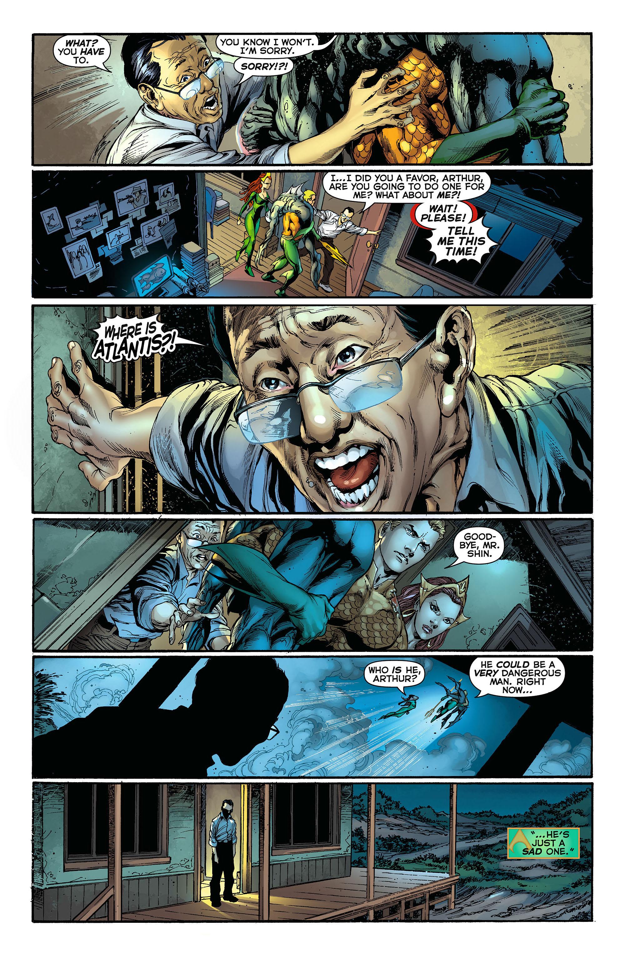 Read online Aquaman (2011) comic -  Issue #3 - 19