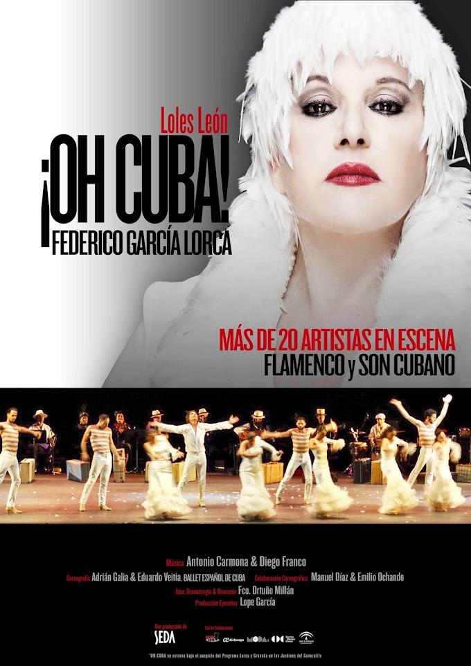 Teatro: '¡Oh Cuba' en el Teatro Fernán Gómez