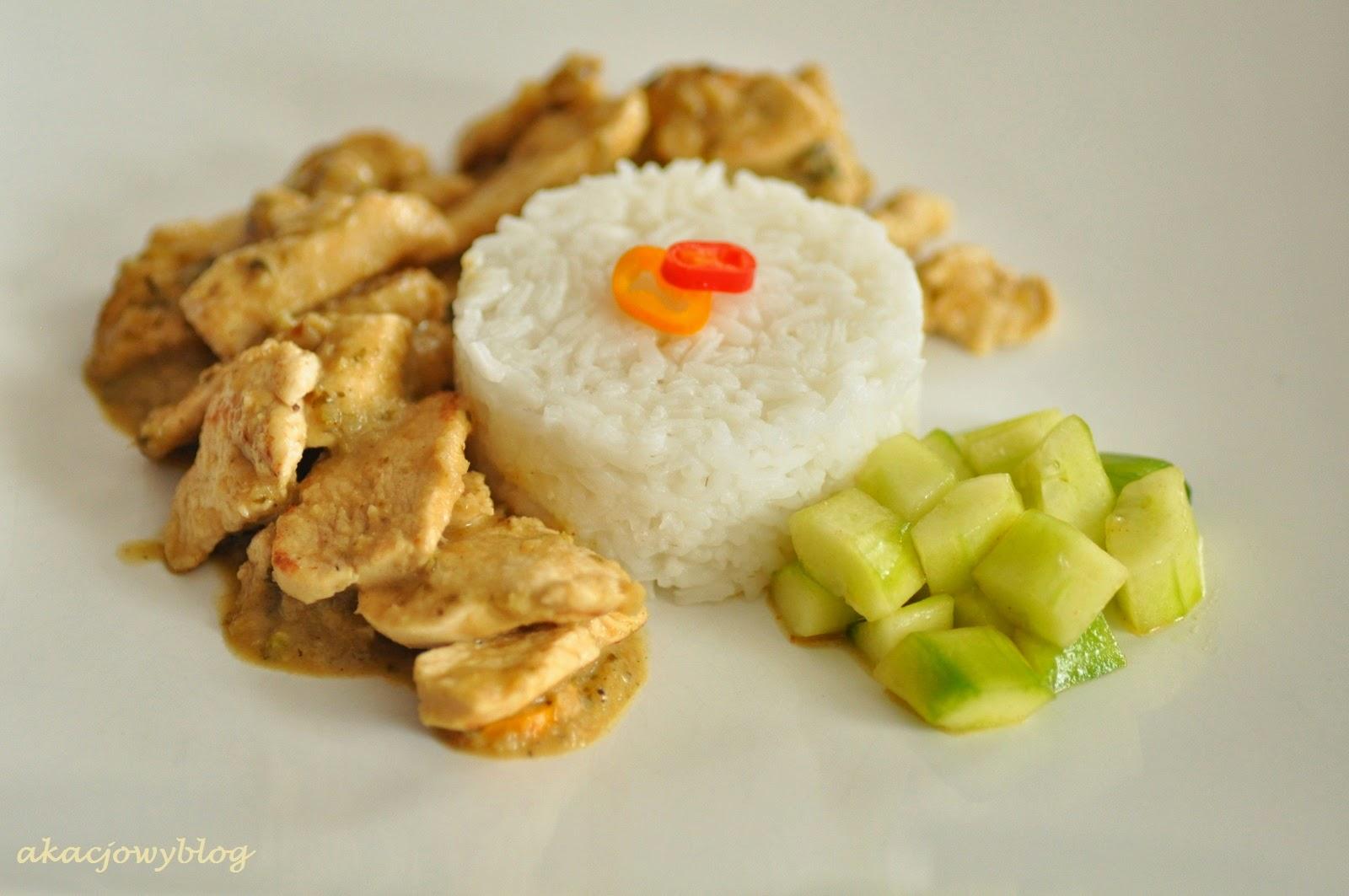 Chicken curry kapitan. Aromatyczny kurczak w stolicy Malezji.