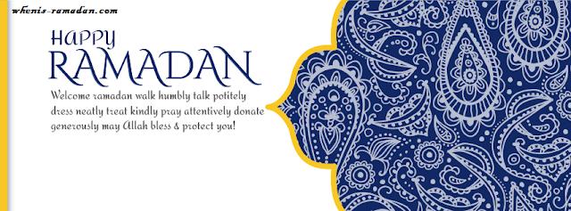 Ramadan Quotes Cover Photo For Facebook
