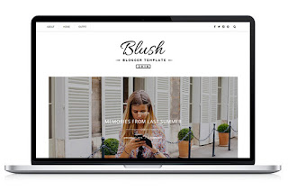 Blush - Responsive MultiPurpose Blogger Template