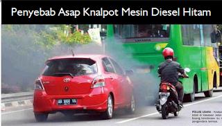Penyebab Asap Knalpot Mesin Diesel Hitam