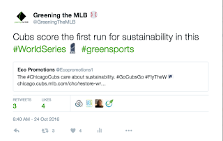 Chicago Cubs sustainability, Green World Series