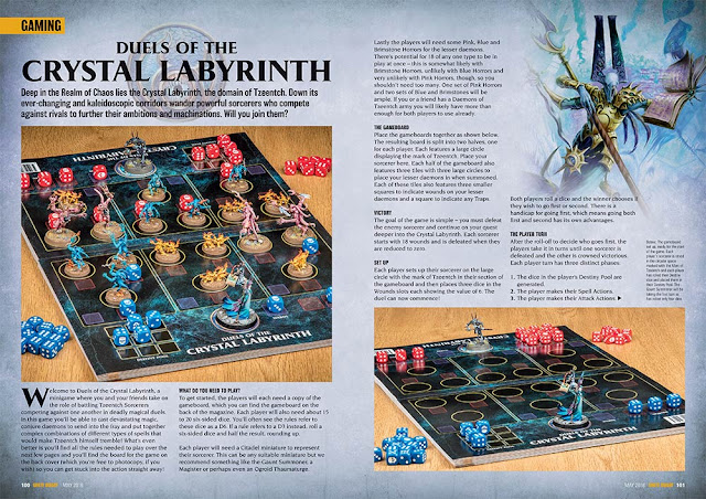 Crystal Labyrinth Tzeentch