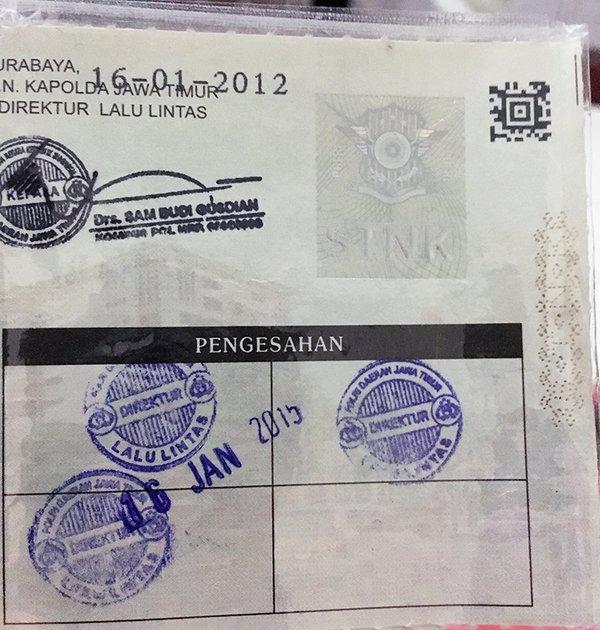 Pajak Tahunan STNK Telat Bisa Ditilang - Jangan Lengah Bro!