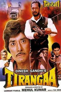 Tirangaa 1992 Hindi HDRip 400MB