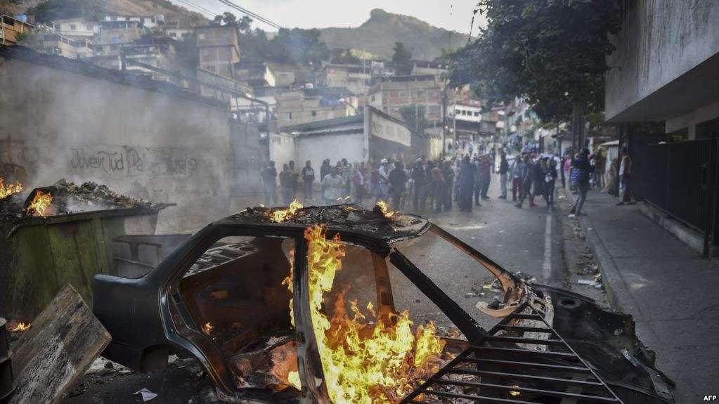 Disturbios en Venezuela a poco de recordar el 23 de enero / AFP