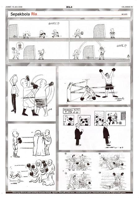 Sepakbola Ria EDISI JUM'AT, 14 JULI 2000