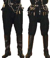 Zıpka giymiş iki adam