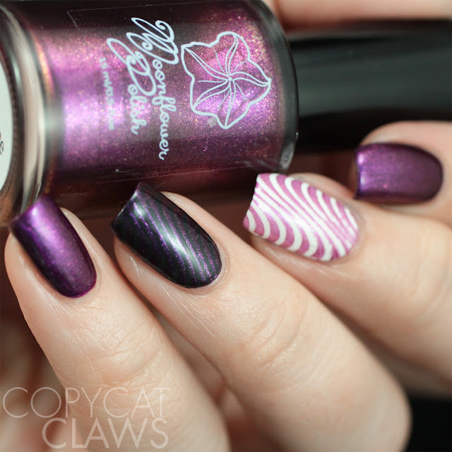 Moonflower Polish Selene stamping polish