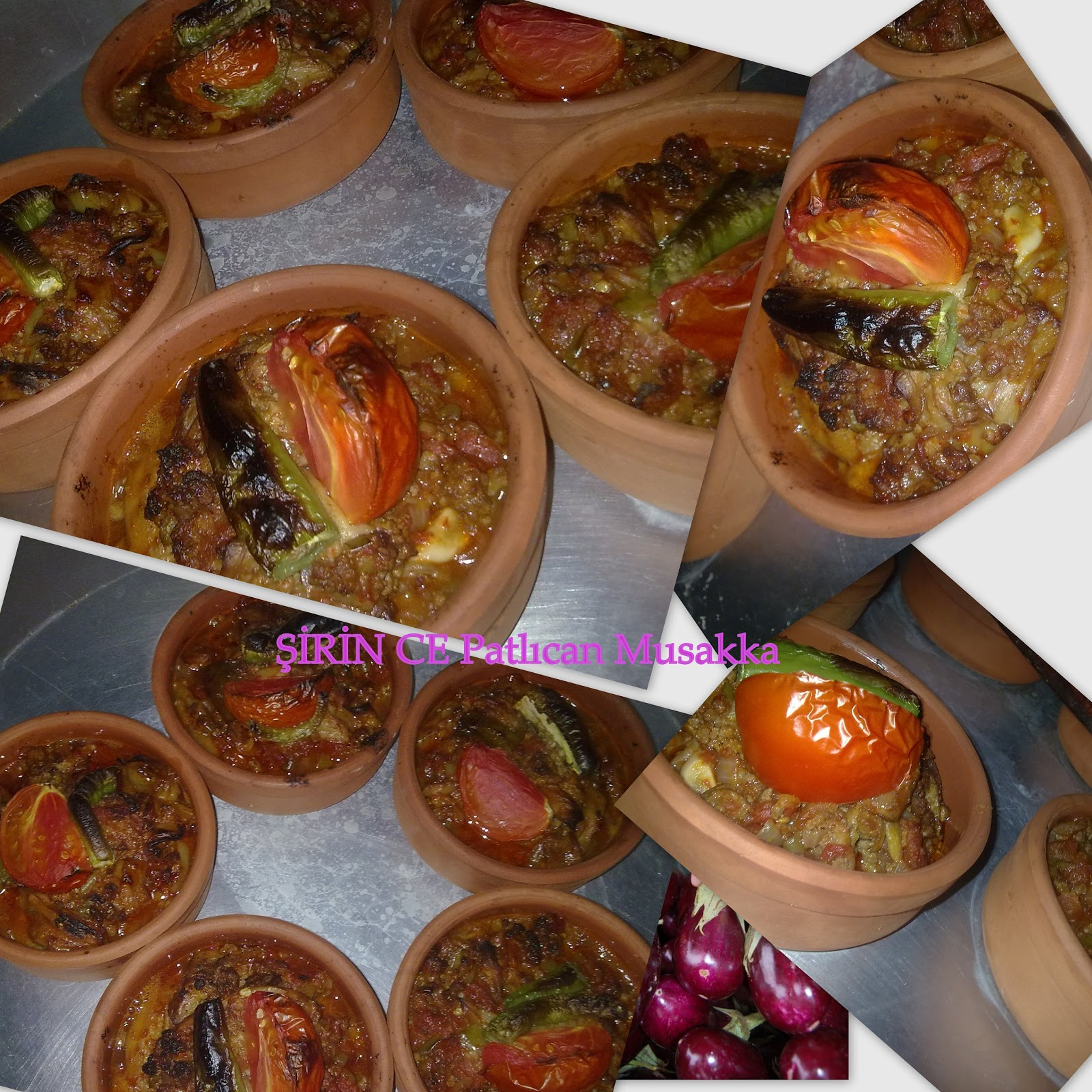 Patlıcan Musakka (Tencerede)