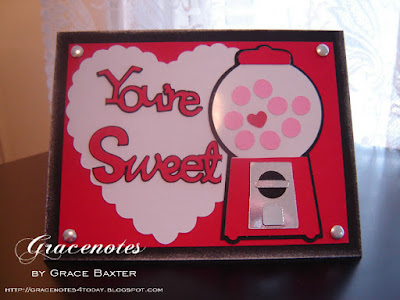 gumball machine valentine, by Grace Baxter