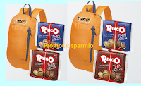 Logo BIC ''La merenda è compito nostro'': vinci 610 zaini BIC con fornitura di prodotti Ringo