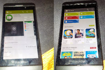 (Update Google Play Service) Cara Instal Google Playstore di BB10