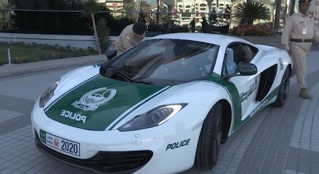 ドバイ警察が新たにマクラーレンMP4-12Cのパトカーを投入